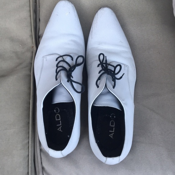 Aldo Shoes   Mens White Dress Size 43